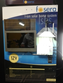 Fosera LSHS Solar System, with DV TV.