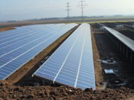 PZM recently installed this 4.4MW solar park near Heidelberg.