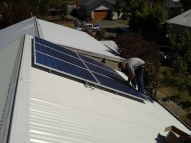 Final touches to a 1.5kW install in Redcliffs