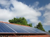 An array of high quality P-Z-M photo-voltaic panels with a 25 year warranty.