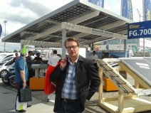 Like! @ InterSolar. Carports!
