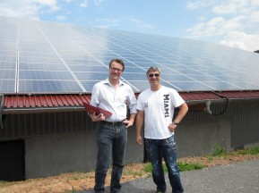 Martin Pfaff and Timo Mauder from PZM in Germany