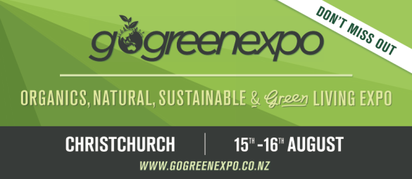 Go Green Expo August 13
